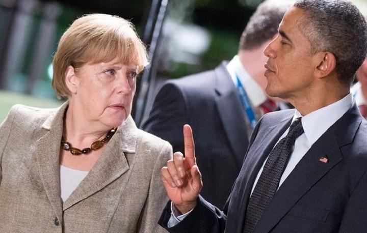 Συνάντηση Μέρκελ -Ομπάμα για την ελληνική κρίση