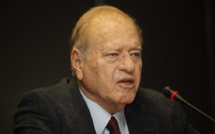 Έφυγε από τη ζωή ο πρώην υπουργός Γεράσιμος Αρσένης
