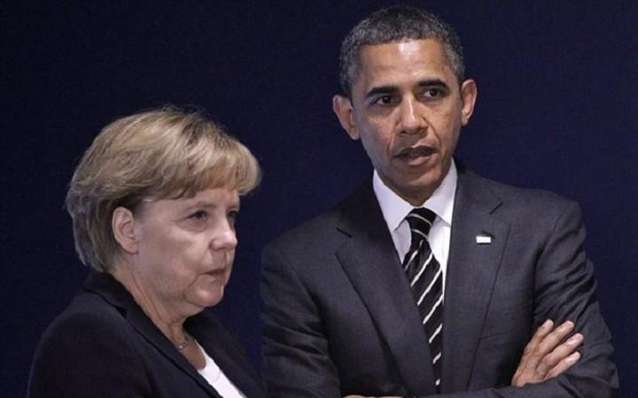 Ομπάμα σε Μέρκελ: Να επιστρέψει η Ελλάδα στη βιώσιμη ανάπτυξη