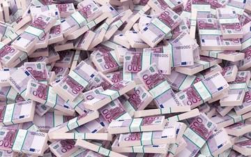 Η ΕΚΤ ανακοίνωσε ότι παύει την παραγωγή του χαρτονομίσματος 500 ευρω