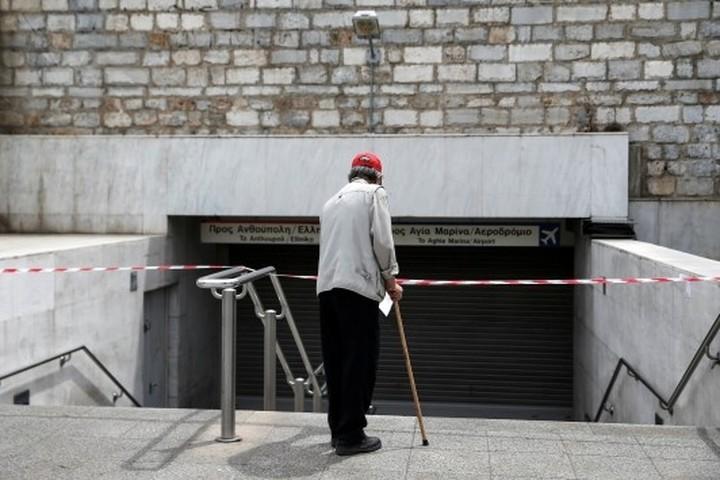 Χωρίς μετρό, λεωφορεία, τρόλεϊ, τραμ, τρένο και προαστιακό σήμερα η Αθήνα