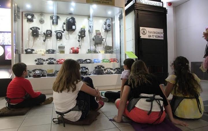Για 3 μέρες η επικοινωνία γίνεται «παιχνίδι» στο Μουσείο Τηλεπικοινωνιών Ομίλου ΟΤΕ