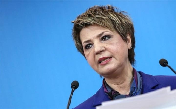 Γεροβασίλη: Το «παραιτηθείτε» κινείται εχθρικά στη χώρα αυτή τη στιγμή
