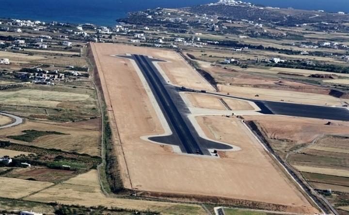 Σε λειτουργία τέλος του μήνα το νέο αεροδρόμιο Πάρου