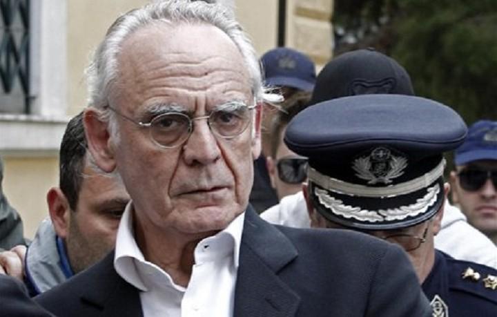 Απορρίφθηκε η αίτηση αποφυλάκισης του Τσοχατζόπουλου