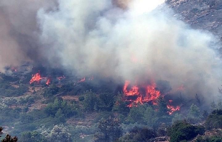 Μεγάλη η καταστροφή στη Χίο