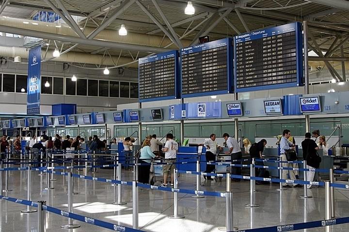 Αύξηση των αεροπορικών αφίξεων τον Ιούλιο