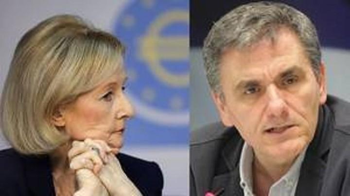 Το ελληνικό τραπεζικό σύστημα συζήτησαν Τσακαλώτος-Νουί