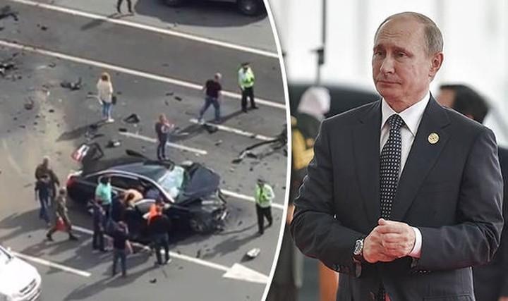 Σε θανατηφόρο τροχαίο ενεπλάκη το αυτοκίνητο του Πούτιν