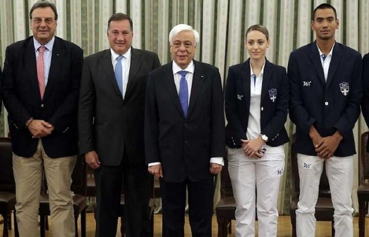Παυλόπουλος προς Ολυμπιονίκες : Είμαστε υπερήφανοι για εσάς