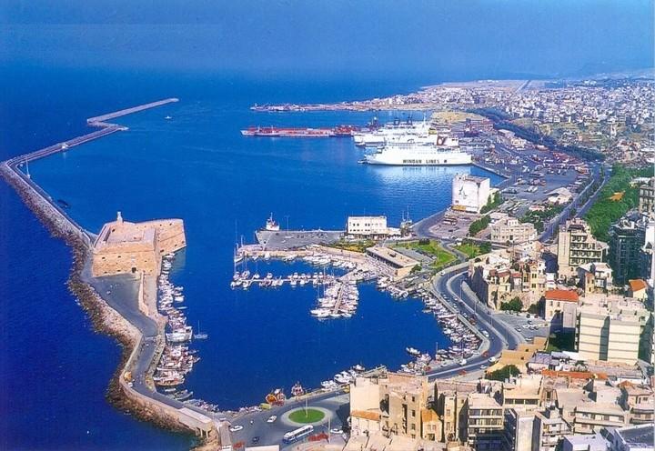 Σχεδόν 100 κρουαζιερόπλοια επισκέφθηκαν το λιμάνι του Ηρακλείου φέτος