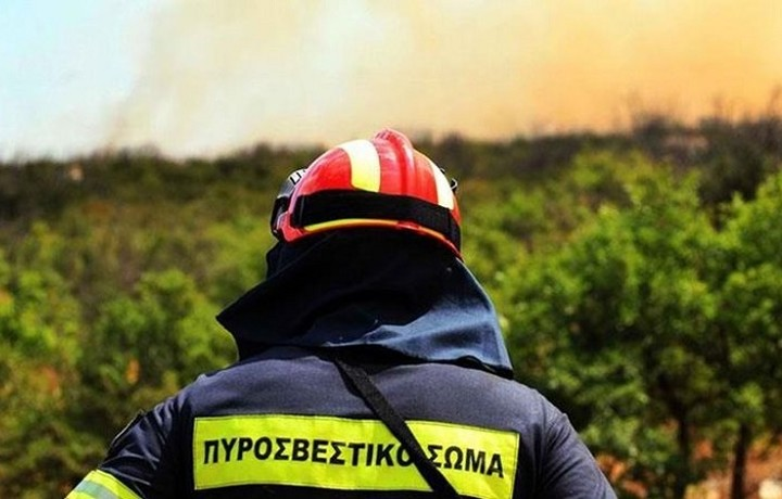 Επτά πυρκαγιές αντιμετώπισε η Πυροσβεστική το τελευταίο 24ωρο