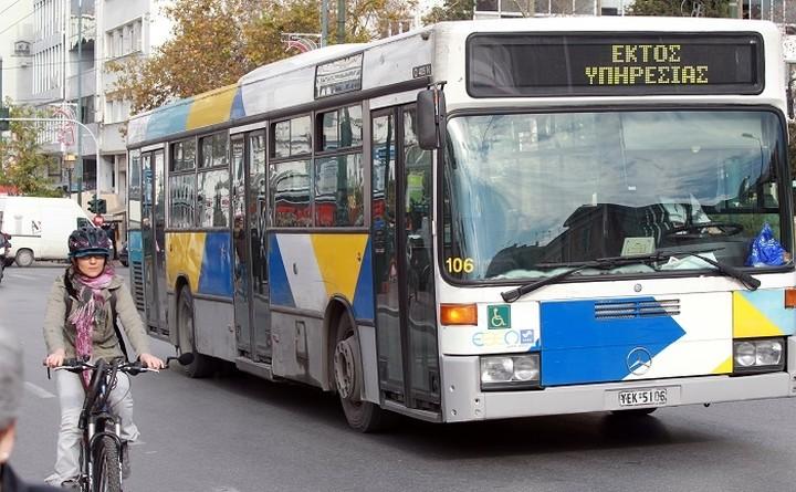 Στάση εργασίας σε λεωφορεία και τρόλεϊ αύριο