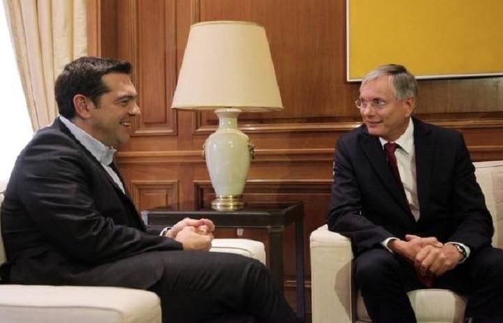Τον Αυστριακό υπουργό Εργασίας υποδέχθηκε ο Τσίπρας