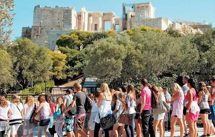 Σε ανοδική τροχιά ο ελληνικός τουρισμός