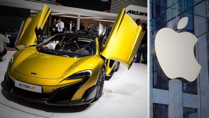 Apple: Επιθυμεί εξαγορά της McLaren!