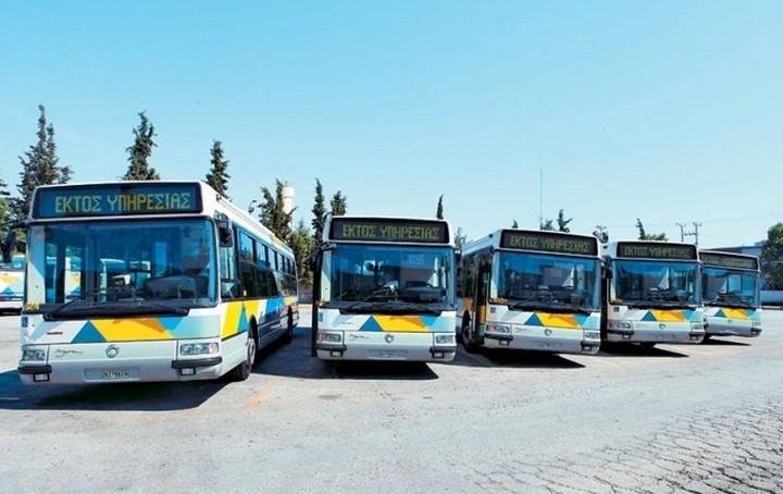 Πλήγμα στα έσοδα λεωφορείων και τρόλεϊ