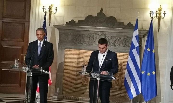 Τσίπρας: Η κοινωνία δεν αντέχει άλλη λιτότητα- Ομπάμα: Η λιτότητα δεν είναι συνταγή ανάπτυξης