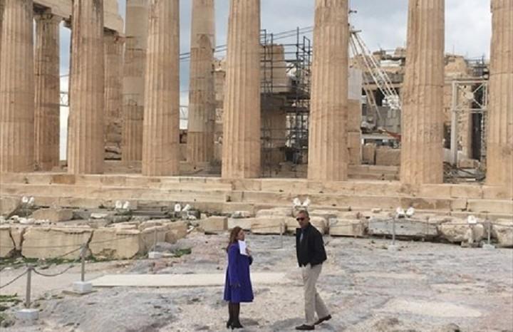 Στην Ακρόπολη ο Ομπάμα