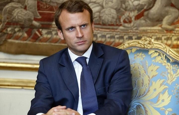 Ο Μακρόν υποψήφιος για την προεδρία της Γαλλίας