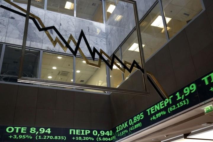 """Τραπεζικό """"ξέσπασμα"""" επαναφέρει το Χρηματιστήριο στις 592 μονάδες"""