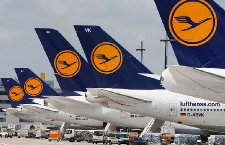 H Lufthansa ματαιώνει 912 πτήσεις