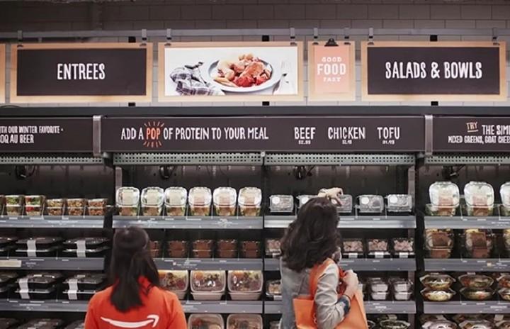 H Amazon αλλάζει άρδην την αγορά των σούπερ μάρκετ