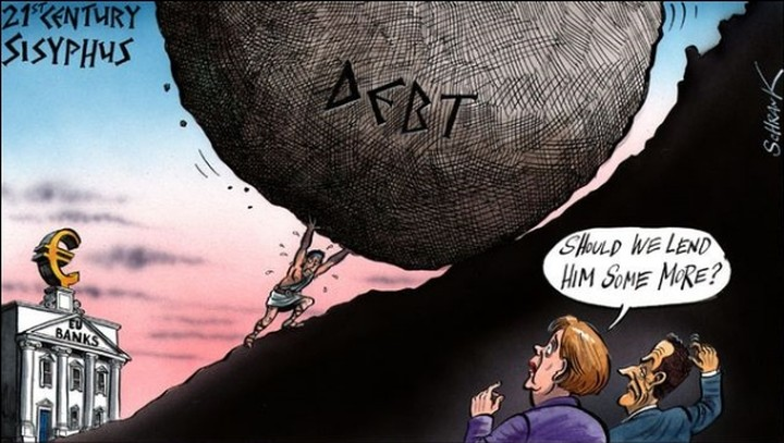 "Reuters για Ελλάδα: ""Κάτι ανάμεσα σε... Σίσυφο και Ηρακλή"""