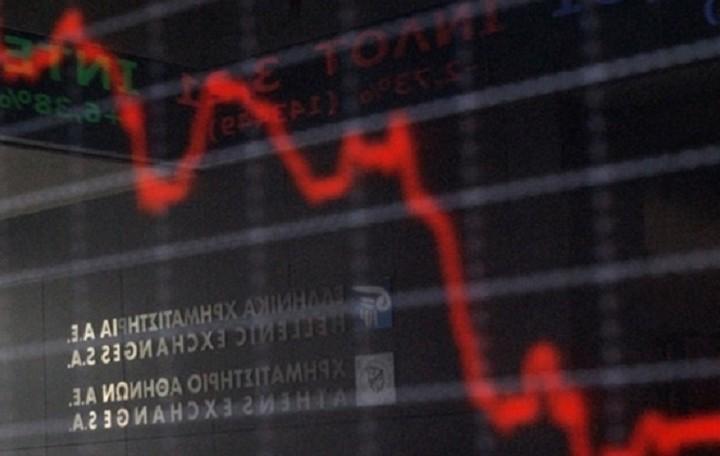 Στο κόκκινο το Χρηματιστήριο- Πτώση 3,17%
