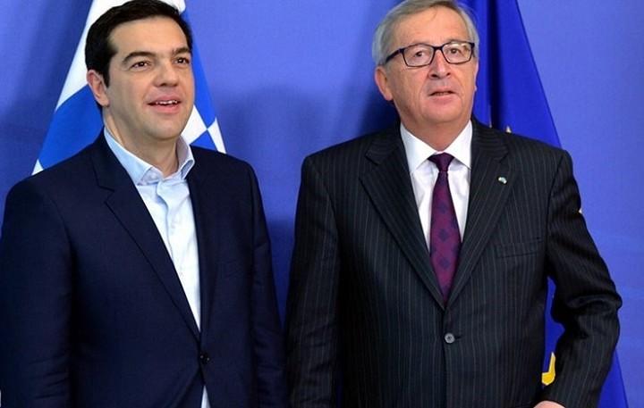 Για το ελληνικό πρόγραμμα συζήτησαν Τσίπρας- Γιούνκερ