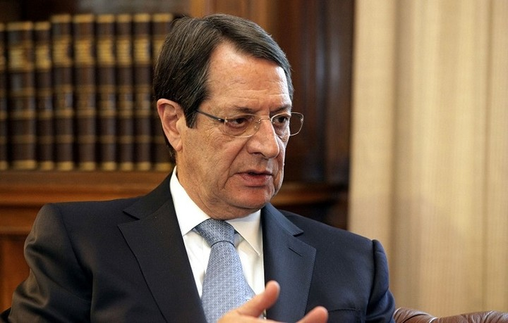 Αισιόδοξος ο Αναστασιάδης για την έκβαση των σημερινών συνομιλιών