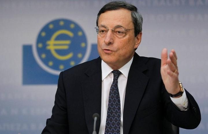 Ντράγκι: Η προώθηση της χρηματοπιστωτικής ενοποίησης της Ευρώπης είναι «αναγκαία