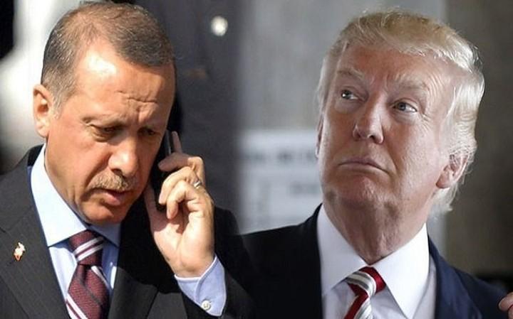 Στην κοινή δέσμευση ΗΠΑ -Τουρκίας κατά της τρομοκρατίας αναφέρθηκαν Ερντογάν -Τραμπ