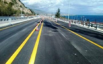 Κλειστή η νέα εθνική οδός Κορίνθου - Πατρών αύριο
