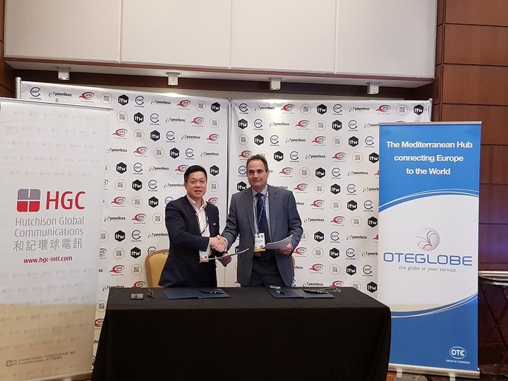 Συμφωνία OTEGlobe με Hutchison  με στόχο τη διασύνδεση Ασίας-Ευρώπης