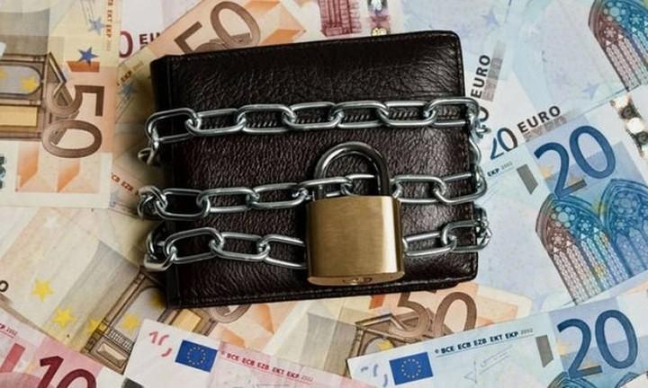 Ένα εκατομμύριο δεσμευμένοι τραπεζικοί λογαριασμοί μέχρι το τέλος του χρόνου