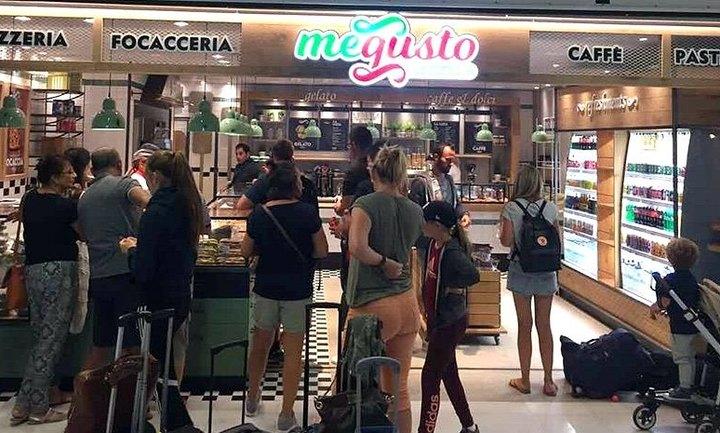 Θα λέμε... Megusto Italiano στα αεροδρόμια