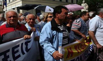 Συγκεντρώσεις διαμαρτυρίας από συνταξιούχους και φοιτητές