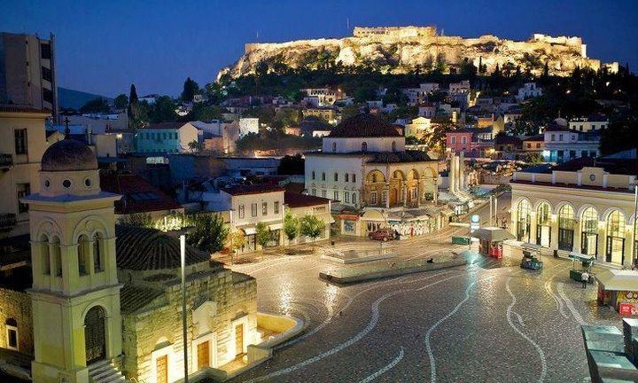 Εκρηξη ζεστασιάς της Telegraph για την Αθήνα