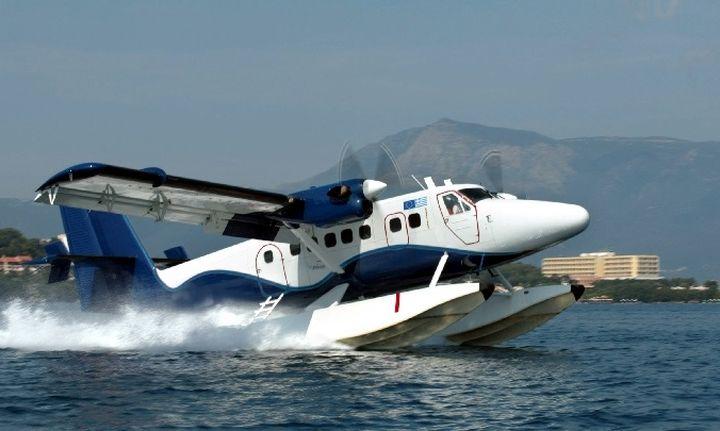 Οι δοκιμαστικές πτήσεις υδροπλάνων έγιναν: Την άνοιξη τακτά δρομολόγια