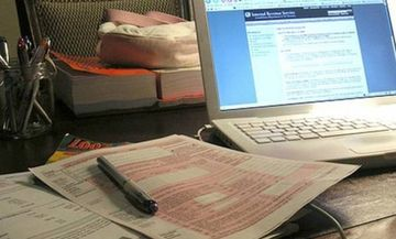 Ηλεκτρονική ενημέρωση για επιστροφές φόρων & πληρωμές με κάρτα στο Taxisnet