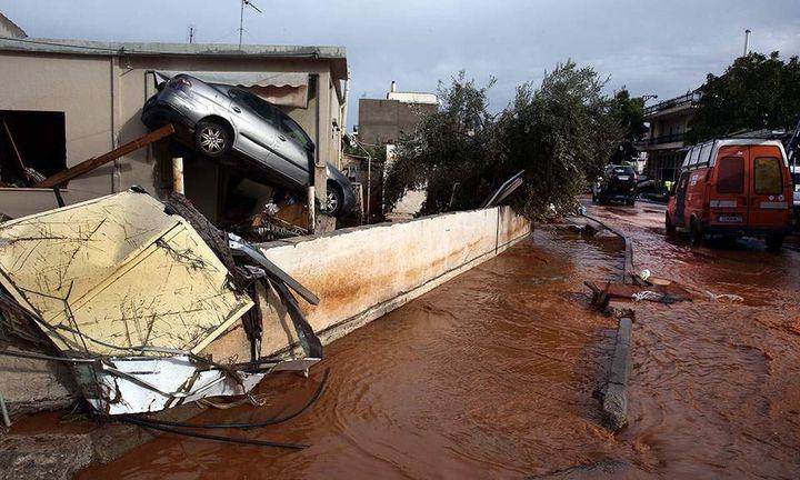 Ολα τα μέτρα για τους πλημμυροπαθείς: 5.000 σε νοικοκυριά, 8.000 σε επιχειρήσεις