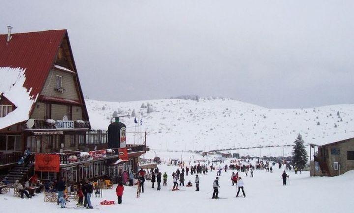 Πριν την Πρωτοχρονιά ο διαγωνισμός του χιονοδρομικού  3-5 Πηγάδια