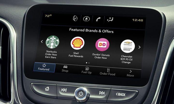 Η GM βάζει αγορά ηλεκτρονικού εμπορίου στο ταμπλό του αυτοκινήτου
