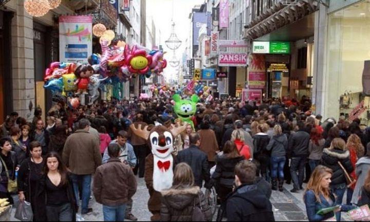 Δεν έγινε το θαύμα στην αγορά τα Χριστούγεννα