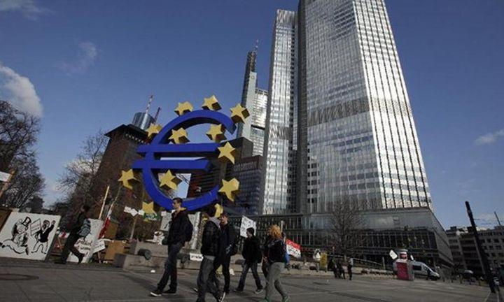 Σε υψηλό 8,5 ετών ο δανεισμός επιχειρήσεων και νοικοκυριών στην Ευρωζώνη
