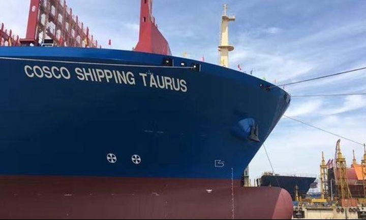 Στον Πειραιά το πλοίο «γίγαντας»