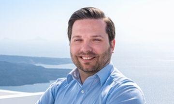 Γεώργιος Βλαχόπουλος: Νέος Γενικός Διευθυντής για το Grace Santorini