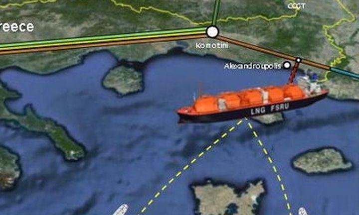 Η μεγάλη ώρα για το τερματικό LNG στην Αλεξανδρούπολη