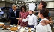 Οταν ο.... Ομπάμα έτρωγε ελληνικό γιαούρτι στο Καπιτώλιο